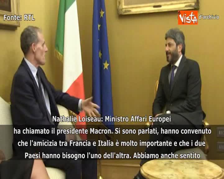 """Italia-Francia il ministro francese agli Affari Europei: """"Ambasciatore ritorna oggi a Roma"""""""