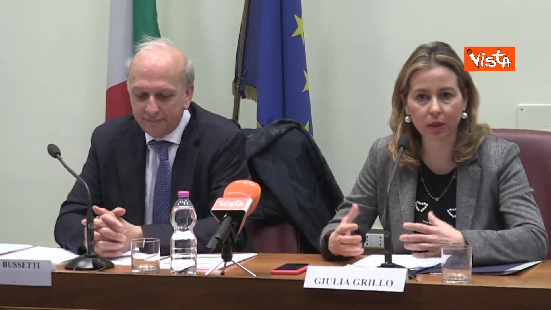 """Salute, G.Grillo: """"Accordo con il Miur molto importante"""""""