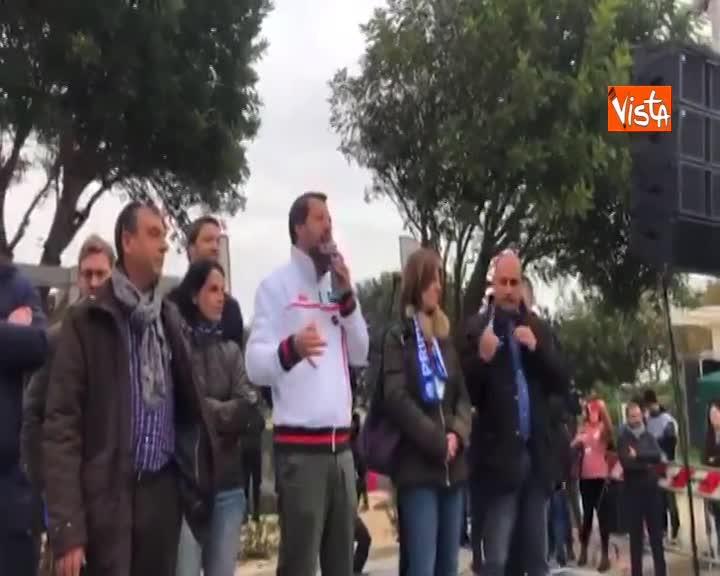 """Diciotti, Salvini: """"Se devo essere processato per aver difeso confini sono orgoglioso"""""""
