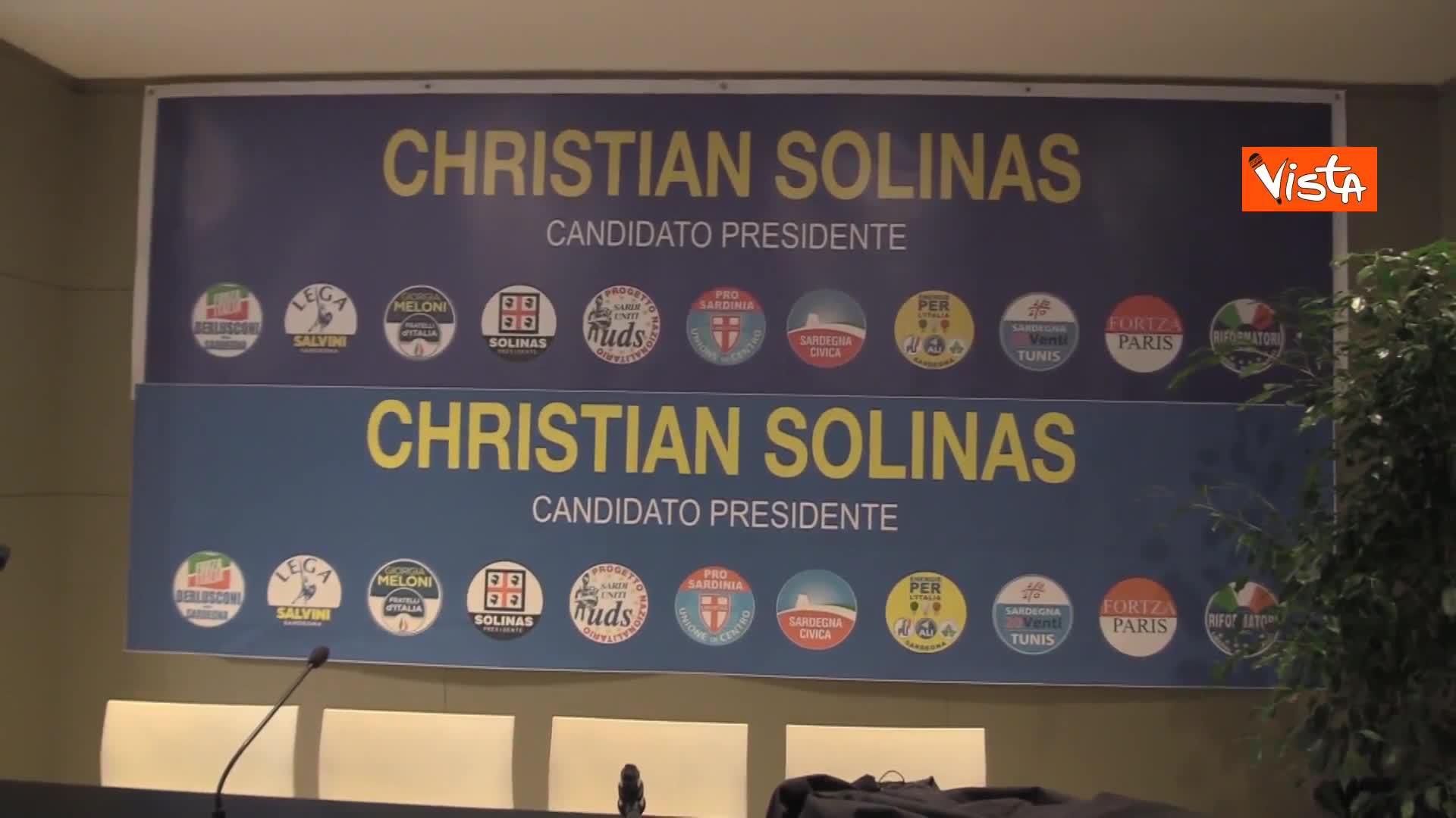Regionali Sardegna, cominciato lo spoglio, le immagini dal comitato di Solinas