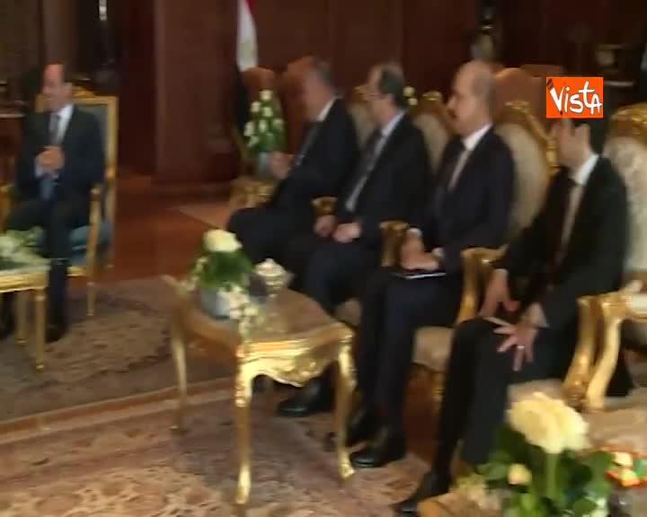 Summit Ue-Lega Stati Arabi, il presidente del Consiglio Ue Tusk incontra presidente egiziano al-Sisi