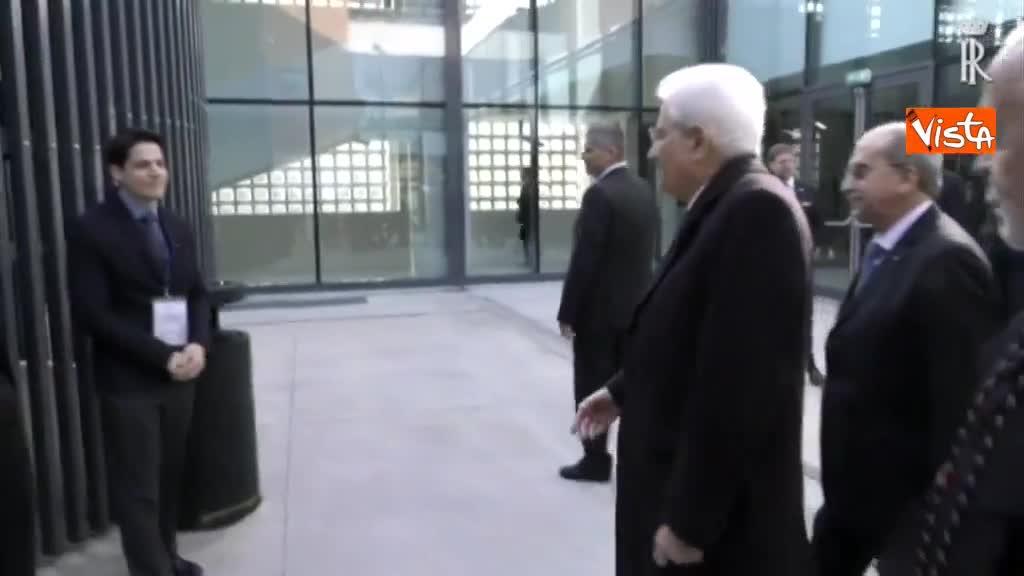 Mattarella all'inaugurazione dell'anno accademico della IULM a Milano