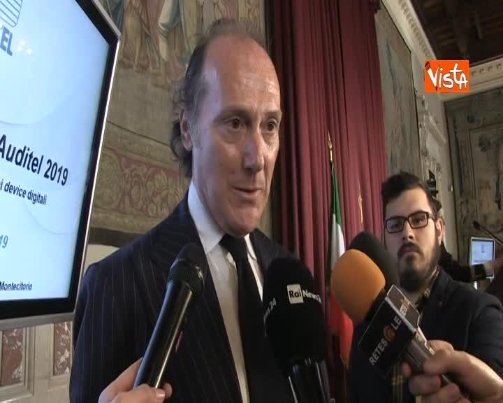 """Auditel, Imperiali: """"Con Istat collaborazione fondamentale"""""""