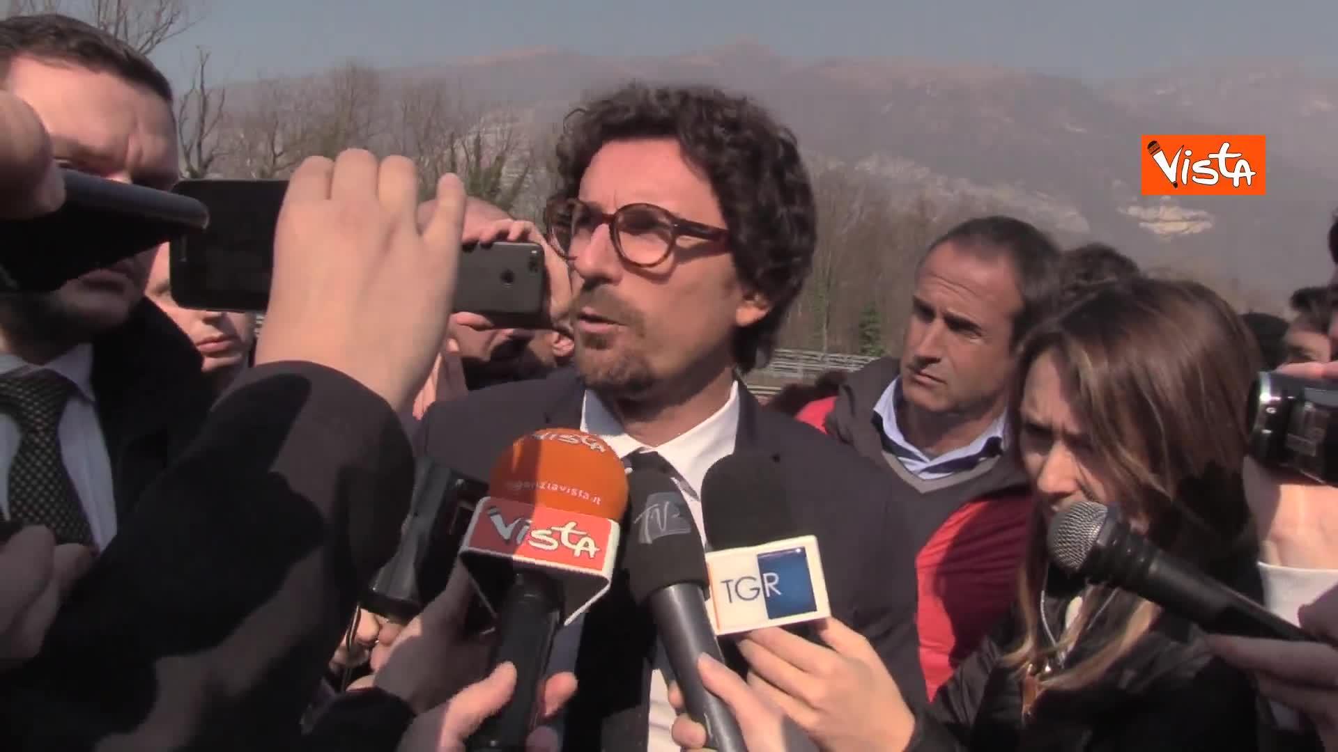 """Governo: Toninelli, rimpasto? Pensiamo a lavorare su dossier"""""""
