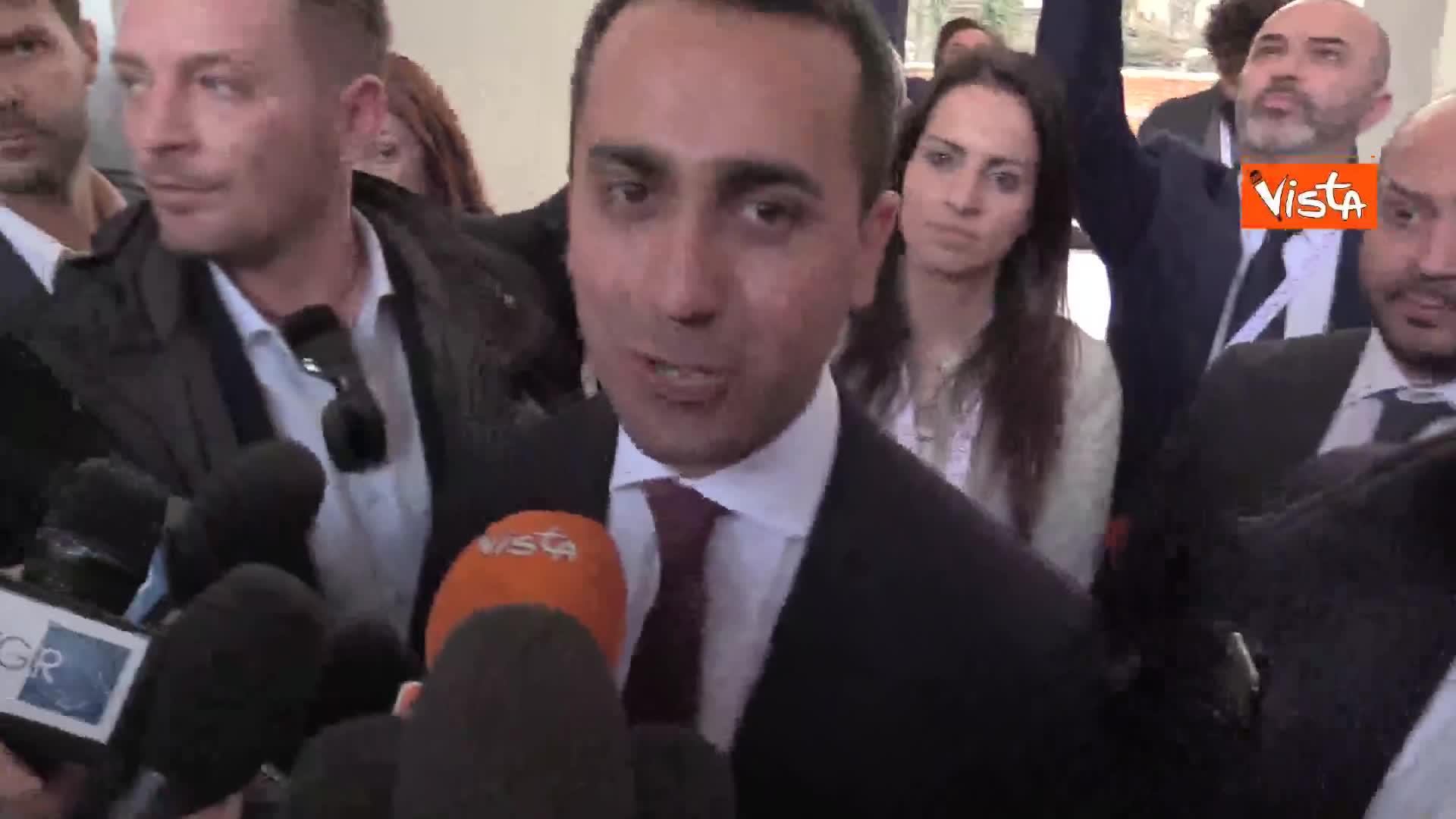 """Tav, Di Maio: """"Obiettivo nostro è dare tranquillità a questo paese"""""""