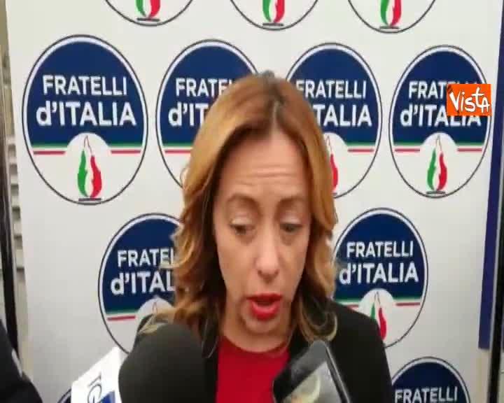 """Tav, Meloni: """"Opera fondamentale che lega l'Italia al commercio europeo"""""""