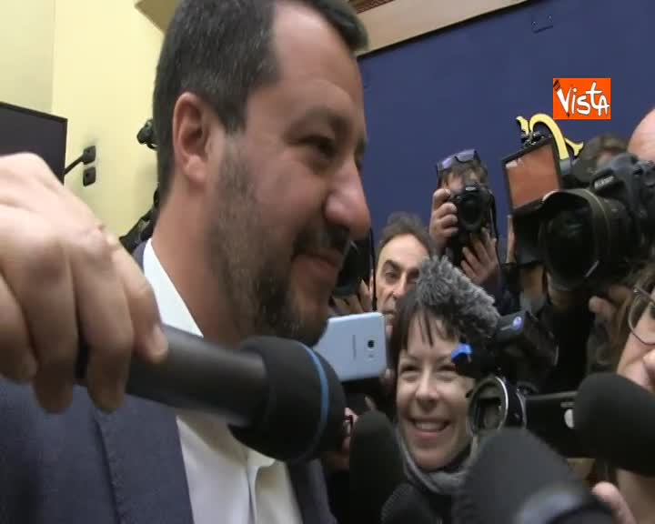 """Vertice centrodestra, Salvini: """"Mangiato tanti cioccolatini. Su Piemonte quasi chiuso"""""""
