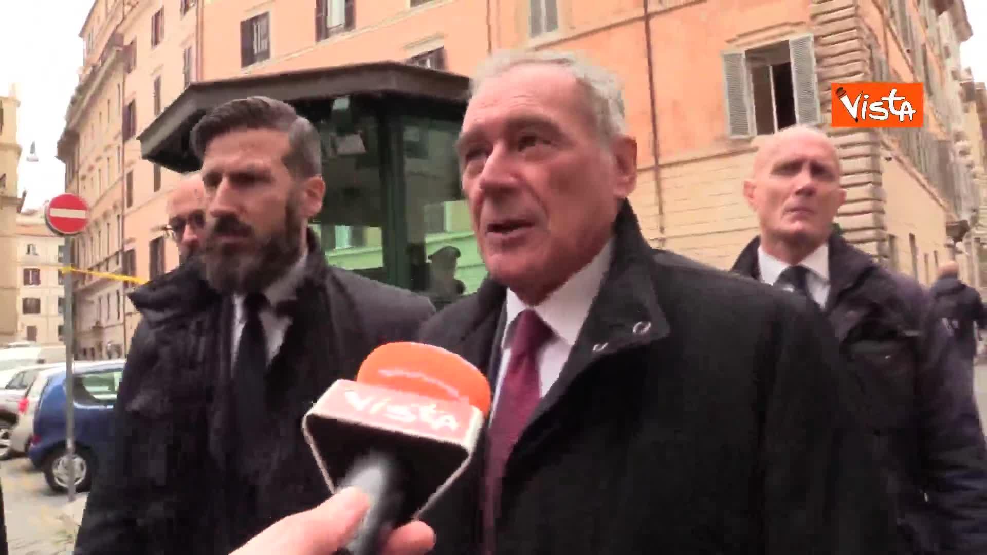 """Diciotti, Grasso (LeU): """"Salvini andava processato"""""""