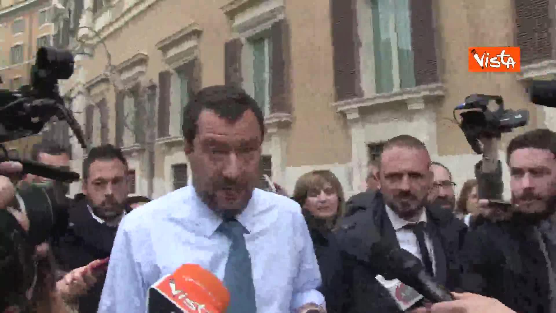 """Arresto De Vito, Salvini: """"Grave, come grave se si è poi innocenti"""""""