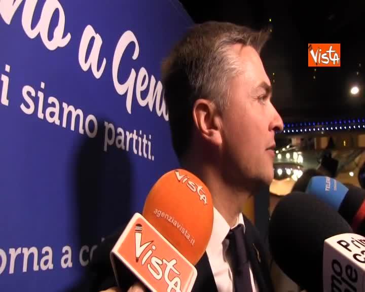 """Porti, Rixi: """"Accordi con Cina ribadiscono centralità Genova e Trieste nel Mediterraneo"""""""