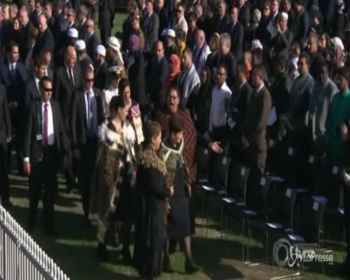 Nuova Zelanda, il canto Maori per le vittime dell'attacco di Christchurch