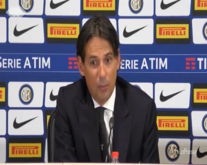 """Inzaghi: """"Squadra matura e concentrata, bello ricevere applausi di San Siro"""""""