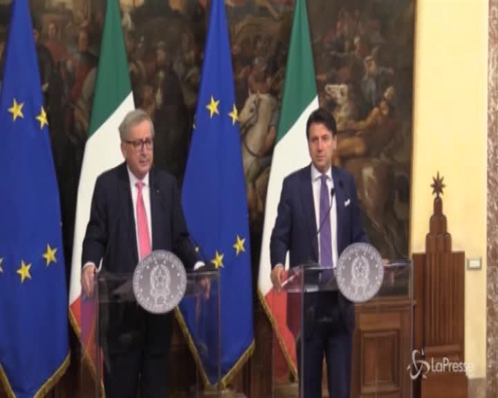 """Tav, Juncker: """"È un progetto tecnico non ideologico"""""""