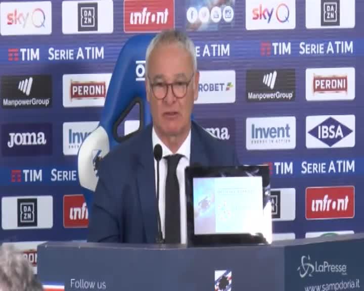 """Samp-Roma, Ranieri: """"Gran bella partita, De Rossi è il nostro condottiero"""""""