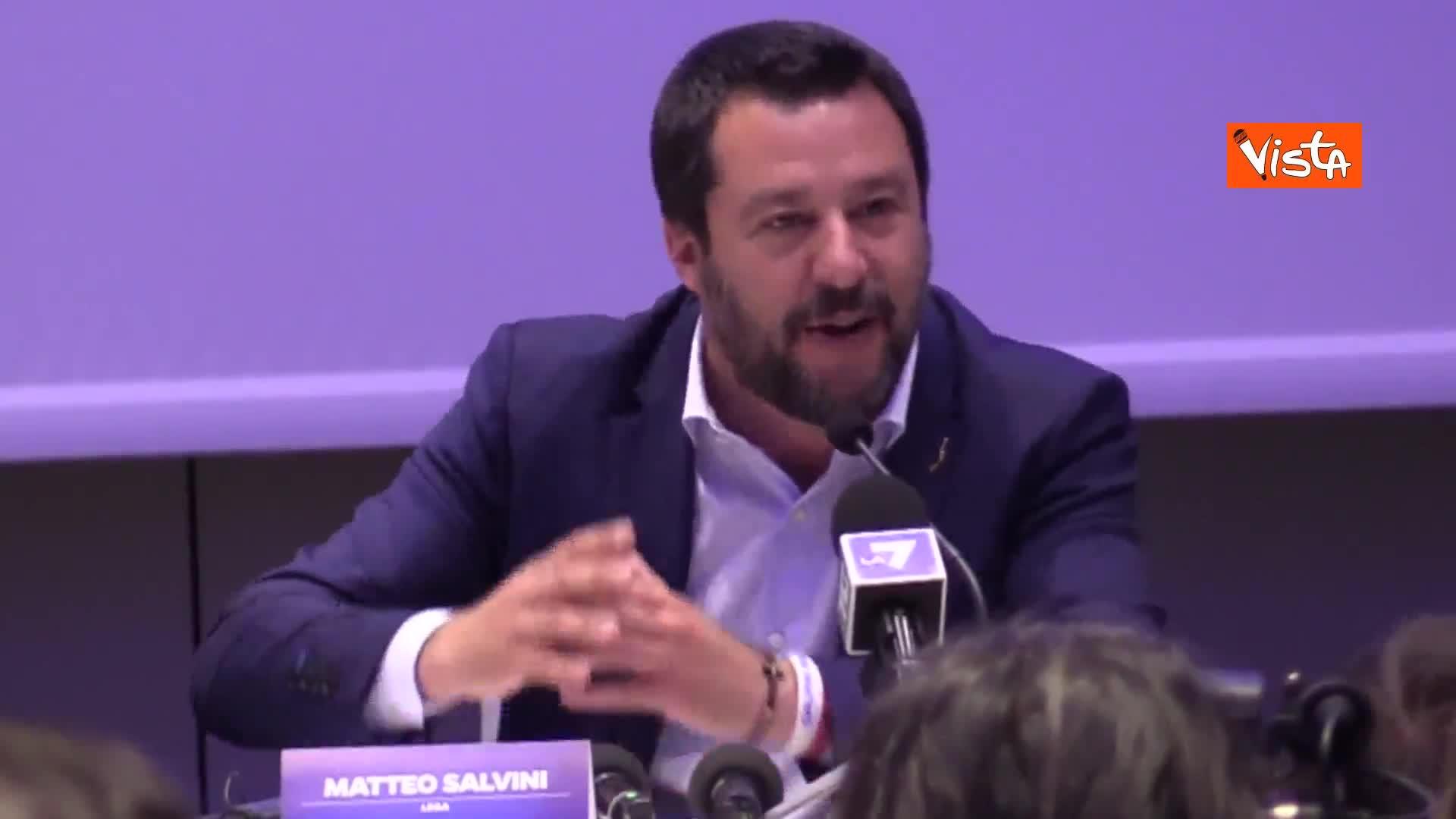"""Salvini: """"Le critiche M5s? Le polemiche locali ci interessano poco"""""""