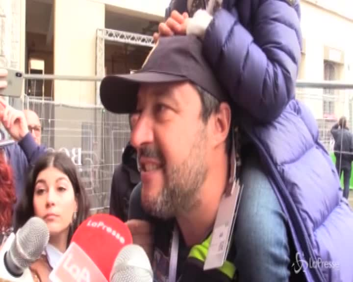 """Lega, Salvini: """"Odio nosta identità? Sinistra non ha capito nulla"""""""