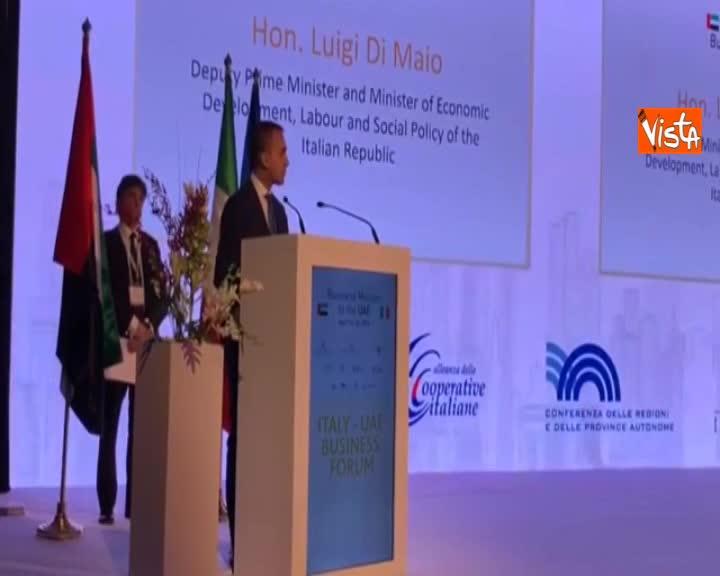 """Crescita, Di Maio: """"Italia prima in Europa nel 2019 per produzione industriale"""""""
