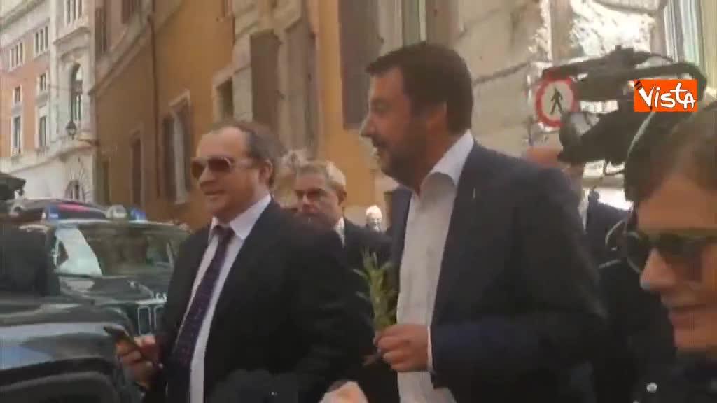 """Roma, Salvini: """"Porto la voce dei romani, non è mio compito svuotare cestini o far funzionare metro"""""""