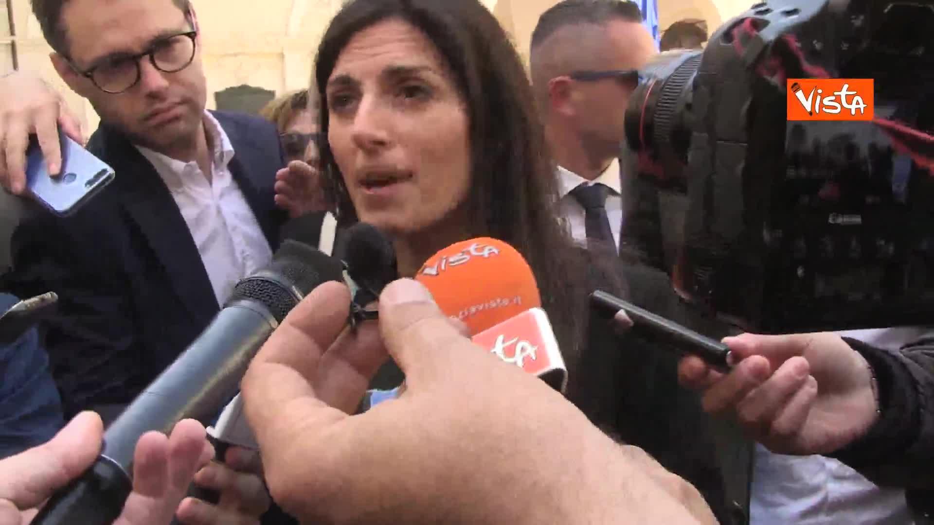"""Salva Roma, Raggi: """"Salvini aveva occasione per far risparmiare 2 mld e mezzo ai cittadini italiani"""""""