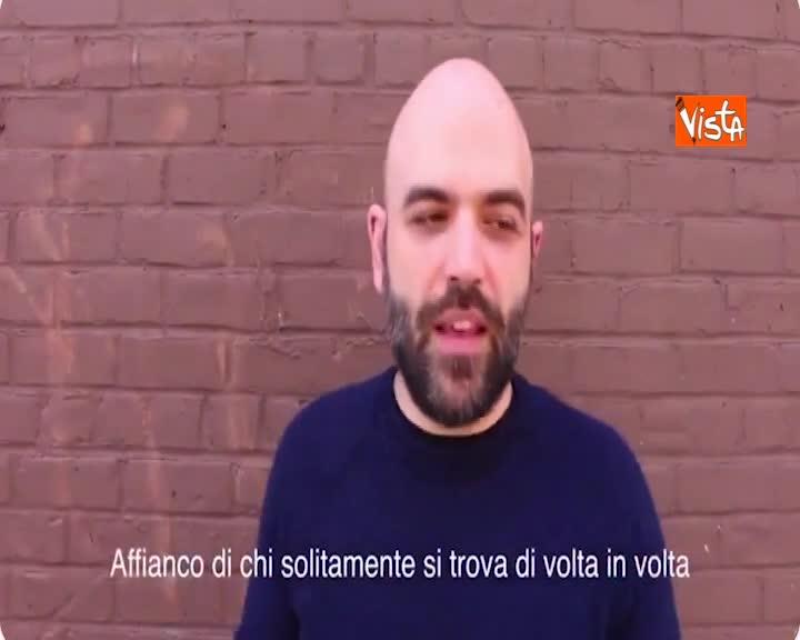 """Radio Radicale, Saviano: """"Un crimine chiuderla, difendiamola"""""""