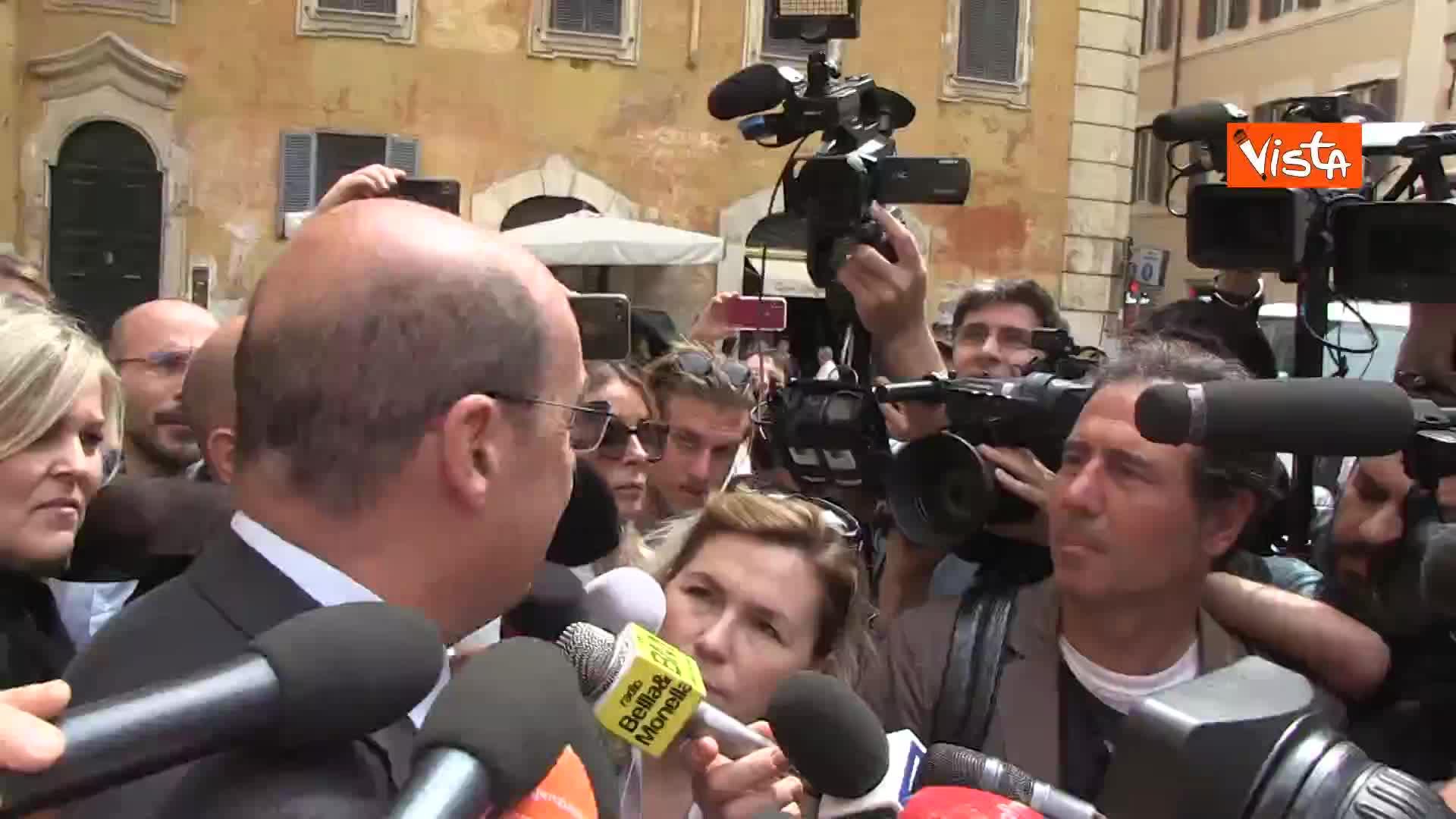 """Europee, Zingaretti: """"Rappresentiamo l'unica novita' nel panorama politico"""""""
