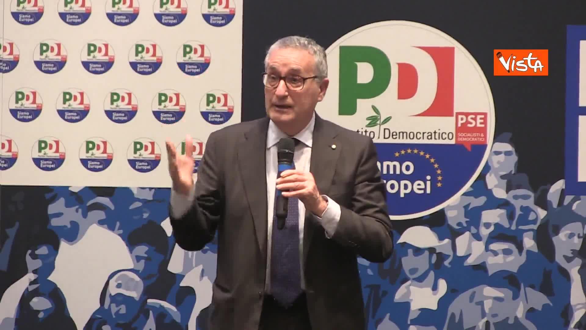 """Sicurezza, Roberti (ex-procuratore): """"Non possiamo lasciare tema solo a Salvini"""""""