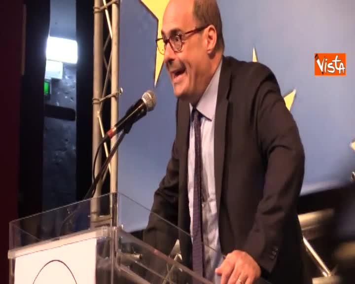 """PD, Zingaretti: """"Un leader da solo non va da nessuna parte senza comunità che lo appoggi"""""""