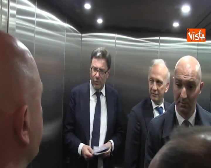 """Governo, Giorgetti: """"Vertice opportuno prima del Consiglio dei ministri del 20"""""""