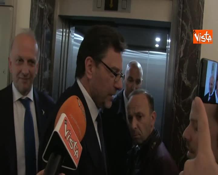 """Governo, Giorgetti: """"Polemiche? Speriamo dopo europee di ripartire normalmente"""""""
