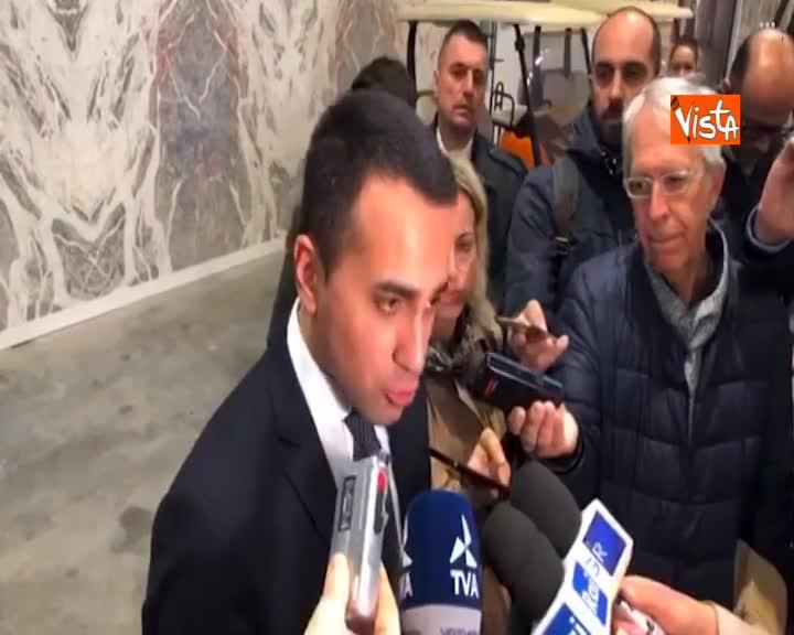 """Governo, Di Maio: """"Cdm confermato, porterò dl Famiglie"""""""