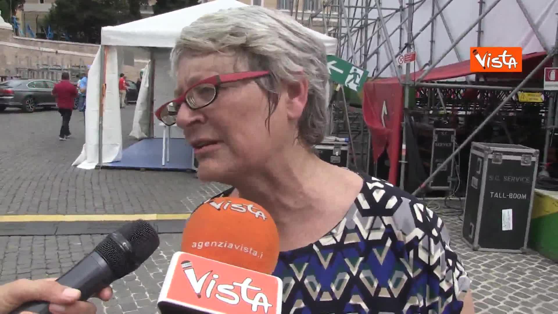 """Sindacati in piazza per servizi pubblici, Furlan: """"Governo faccia datore lavoro, servono assunzioni"""""""