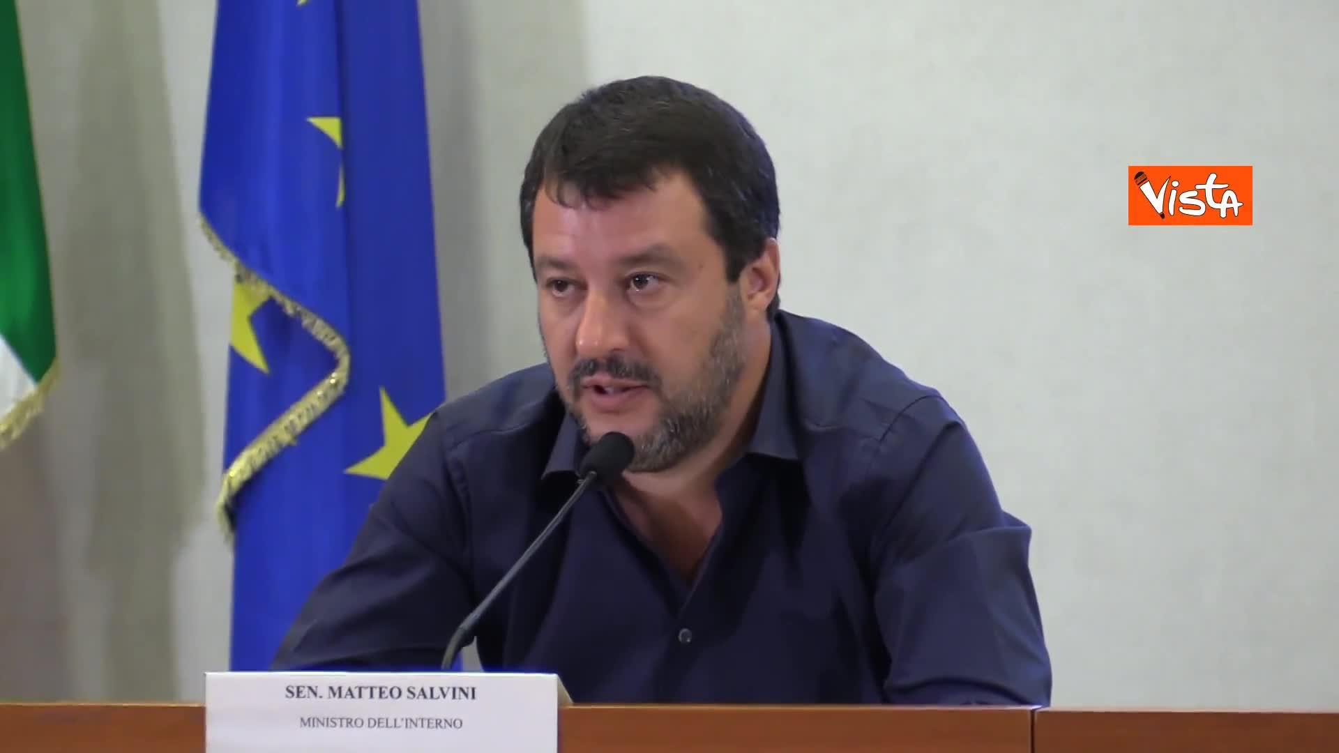 """Regeni, Salvini: """"Non spetta a me ritirare gli ambasciatori"""""""