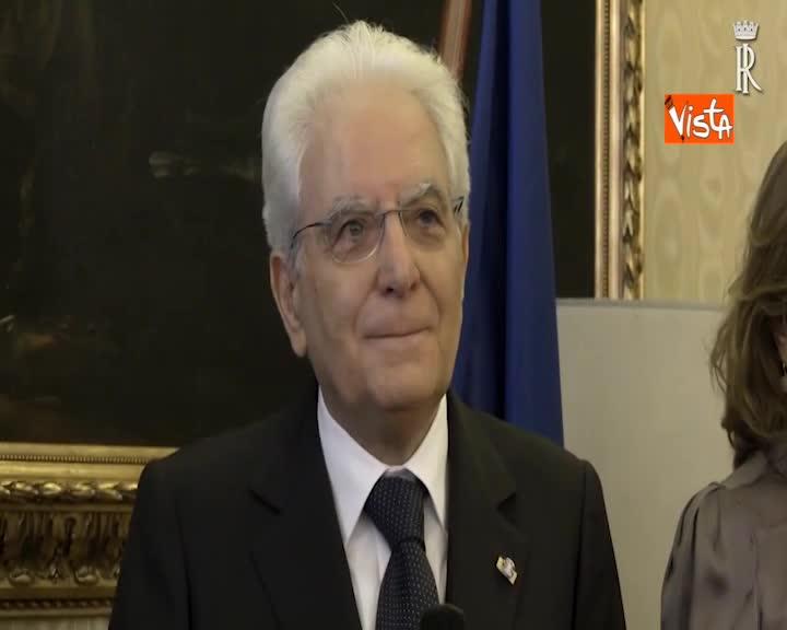 """Mattarella all'ambasciata italiana a Vienna: """"Multilateralismo patrimonio che va difeso"""""""