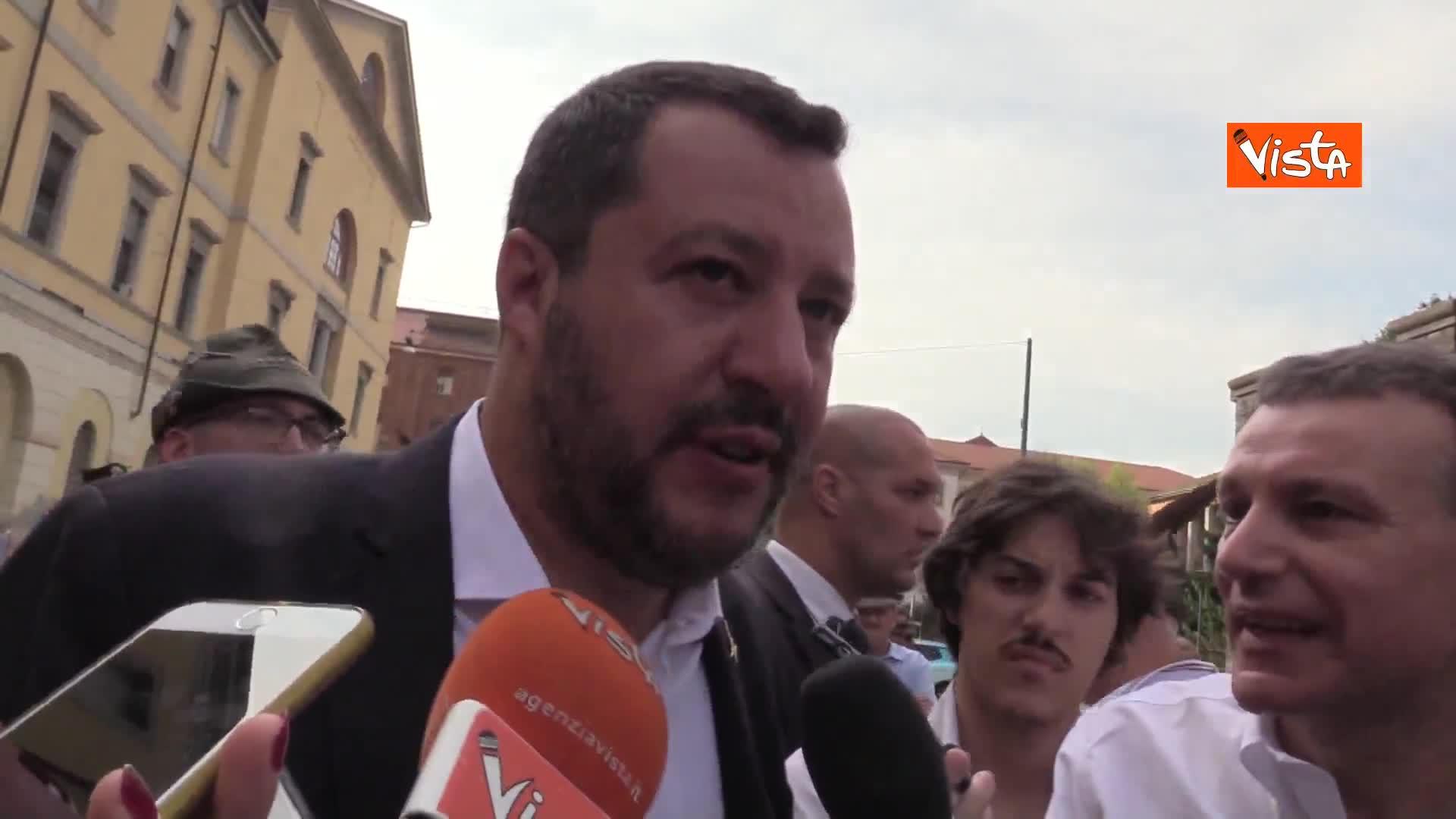"""Autonomia, Salvini: """"Oggi vertice sarà tutto in discesa"""""""