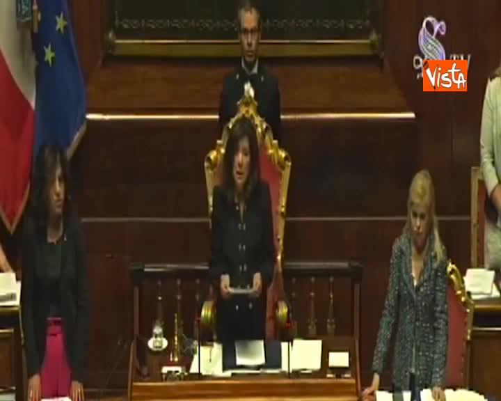 Casellati ricorda Camilleri al Senato