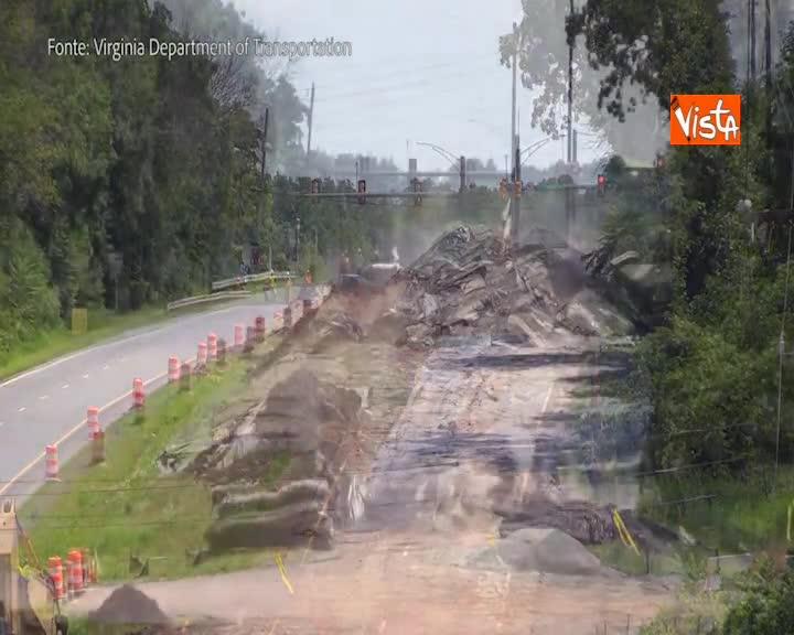 Esplode l'asfalto, ecco come rifanno le strade negli USA