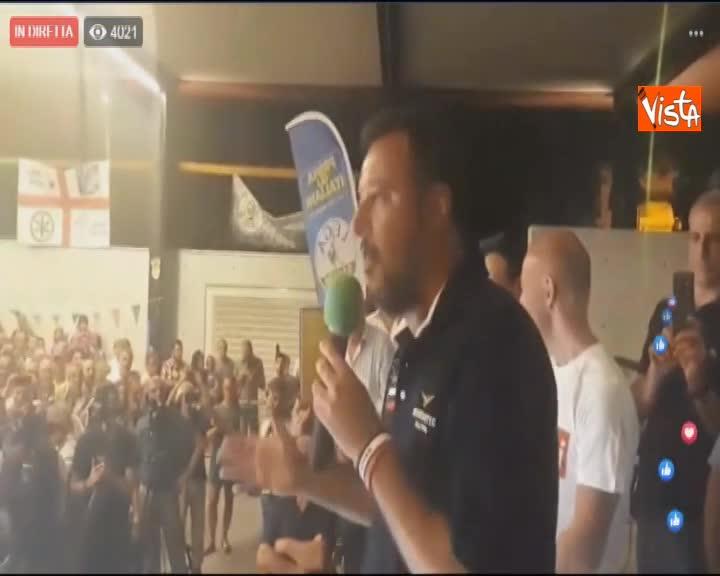 """Salvini: """"Chiunque dica no a tav stia attento perché mette a rischio il Governo"""""""
