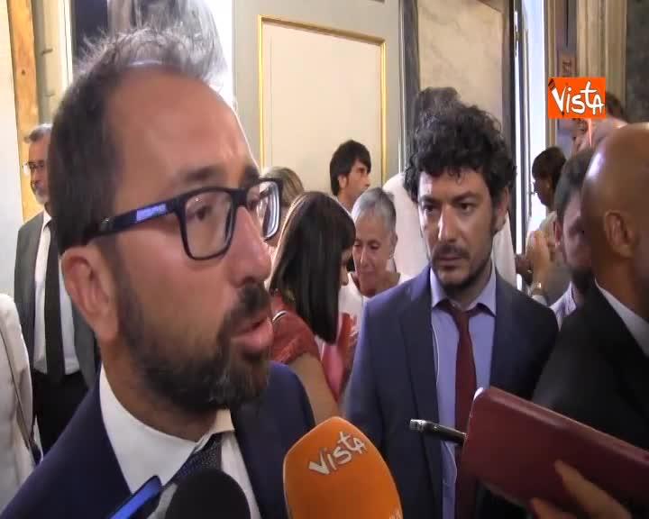 """Governo, Bonafede: """"Bene confronto ma non degeneri in litigio"""""""