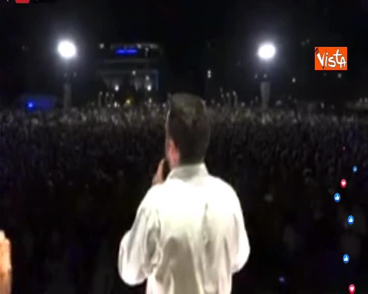 """Crisi di Governo, Salvini: """"Sfidiamo parlamentari a presentarsi in Aula la settimana prossima"""""""