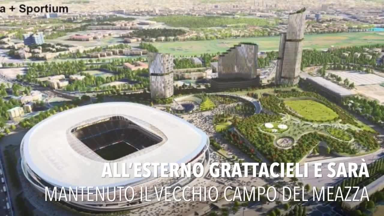 Nuovo San Siro: il progetto di Manica-Sportium