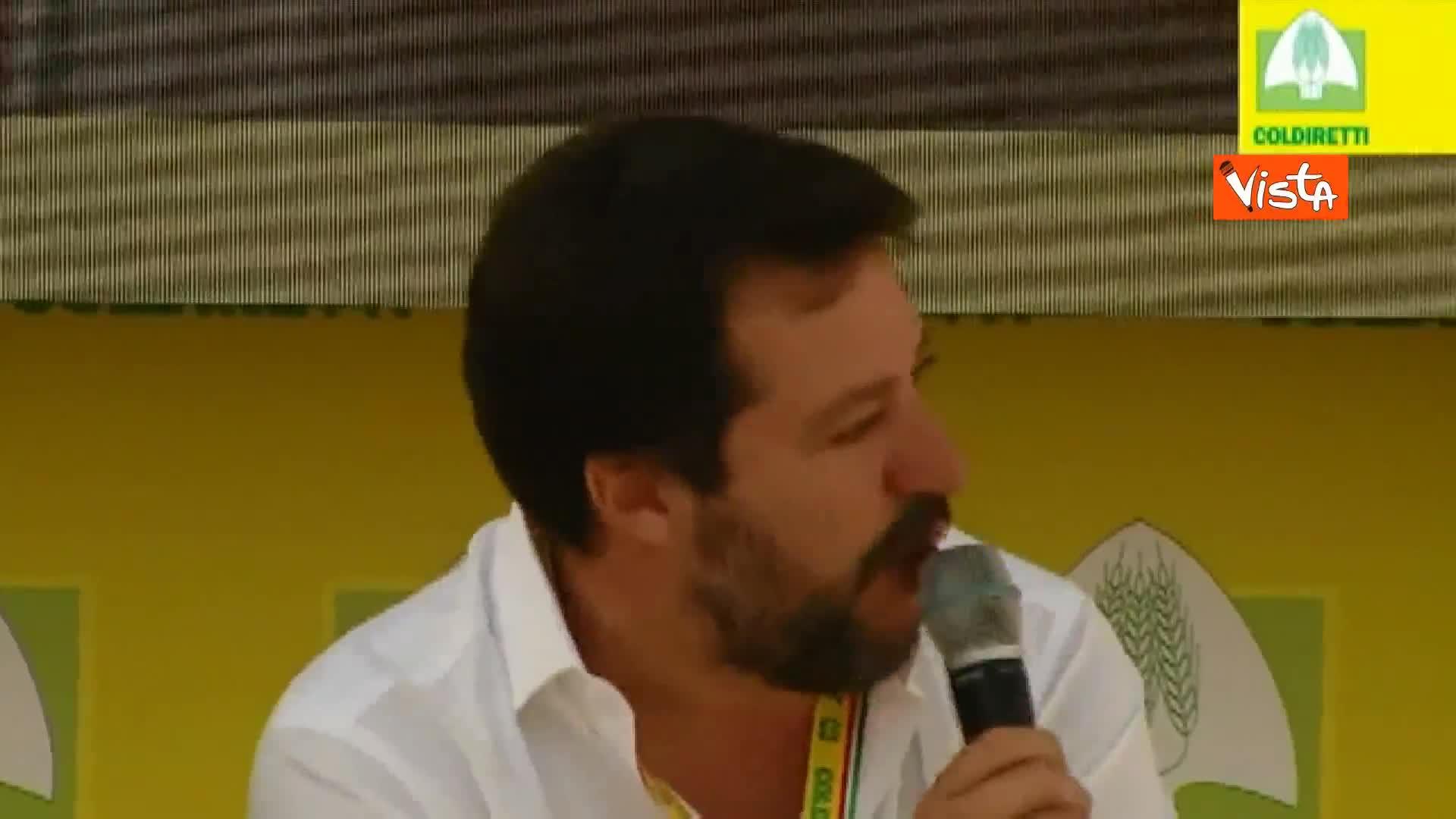 """Salvini: """"Aumentare accise sul gasolio per l'ambiente è da tso"""""""