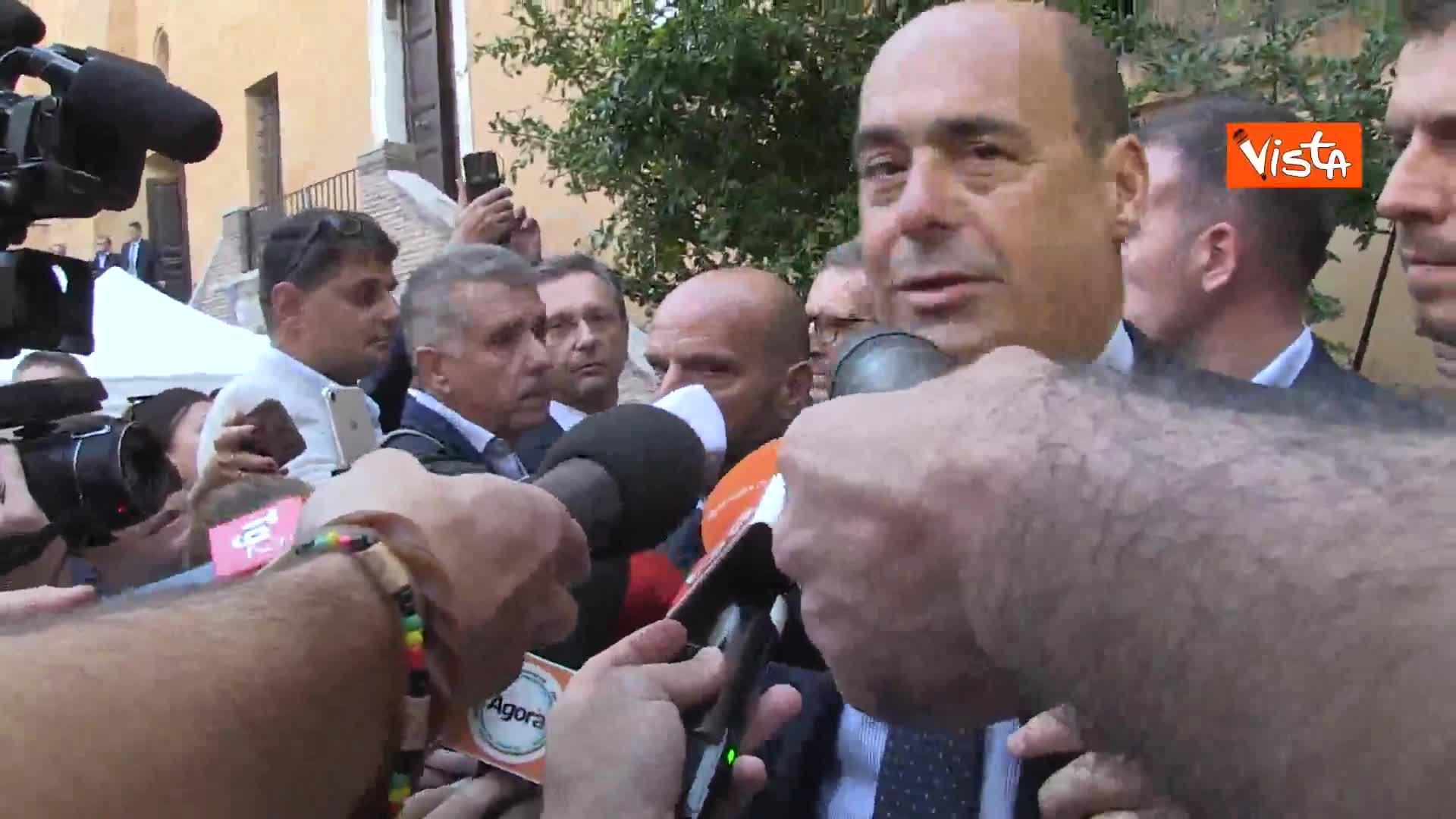 """Ius Culturae, Zingaretti: """"Parlamento lo affronti senza paura e senza tentennamenti"""""""