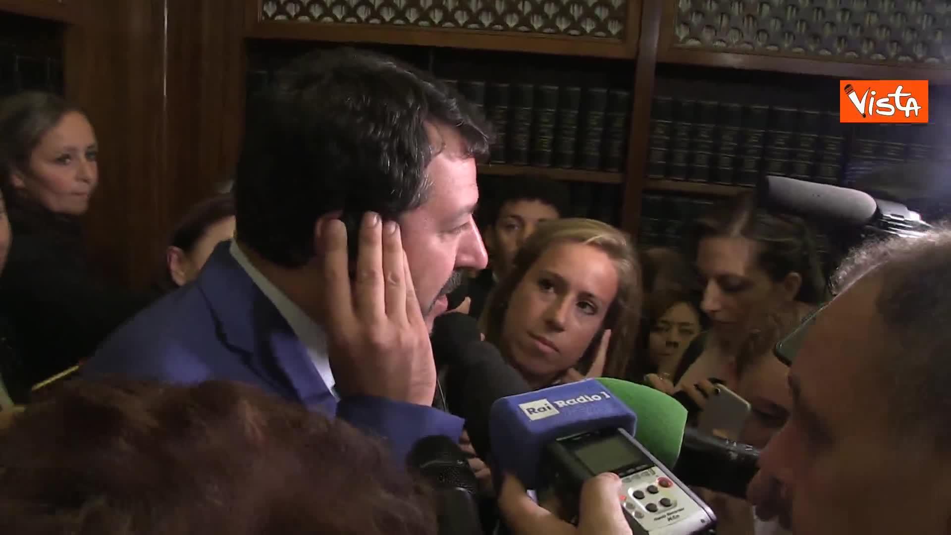 """Salvini: """"5 x mille per forze dell'ordine, ma Stato faccia la sua parte"""""""