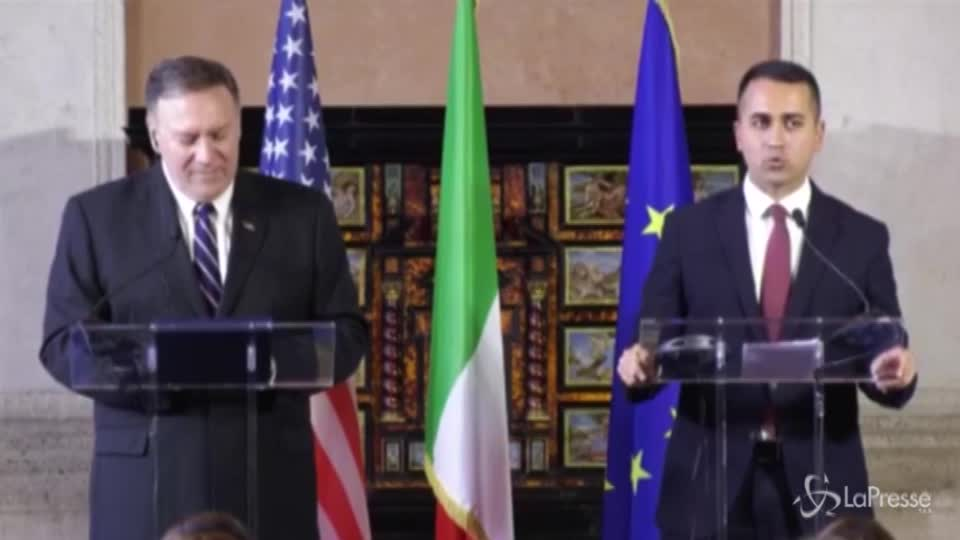 """Mike Pompeo diventa """"Ross"""", la gaffe di Luigi Di Maio che sbaglia il nome del segretario di Stato Usa"""