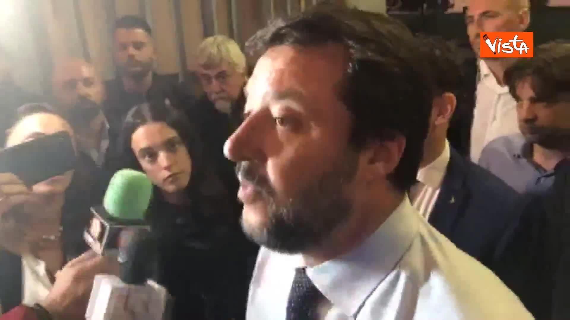 """Dazi Usa, Salvini: """"Brutta notizia, vediamo cosa sapranno fare Conte e Di Maio"""""""
