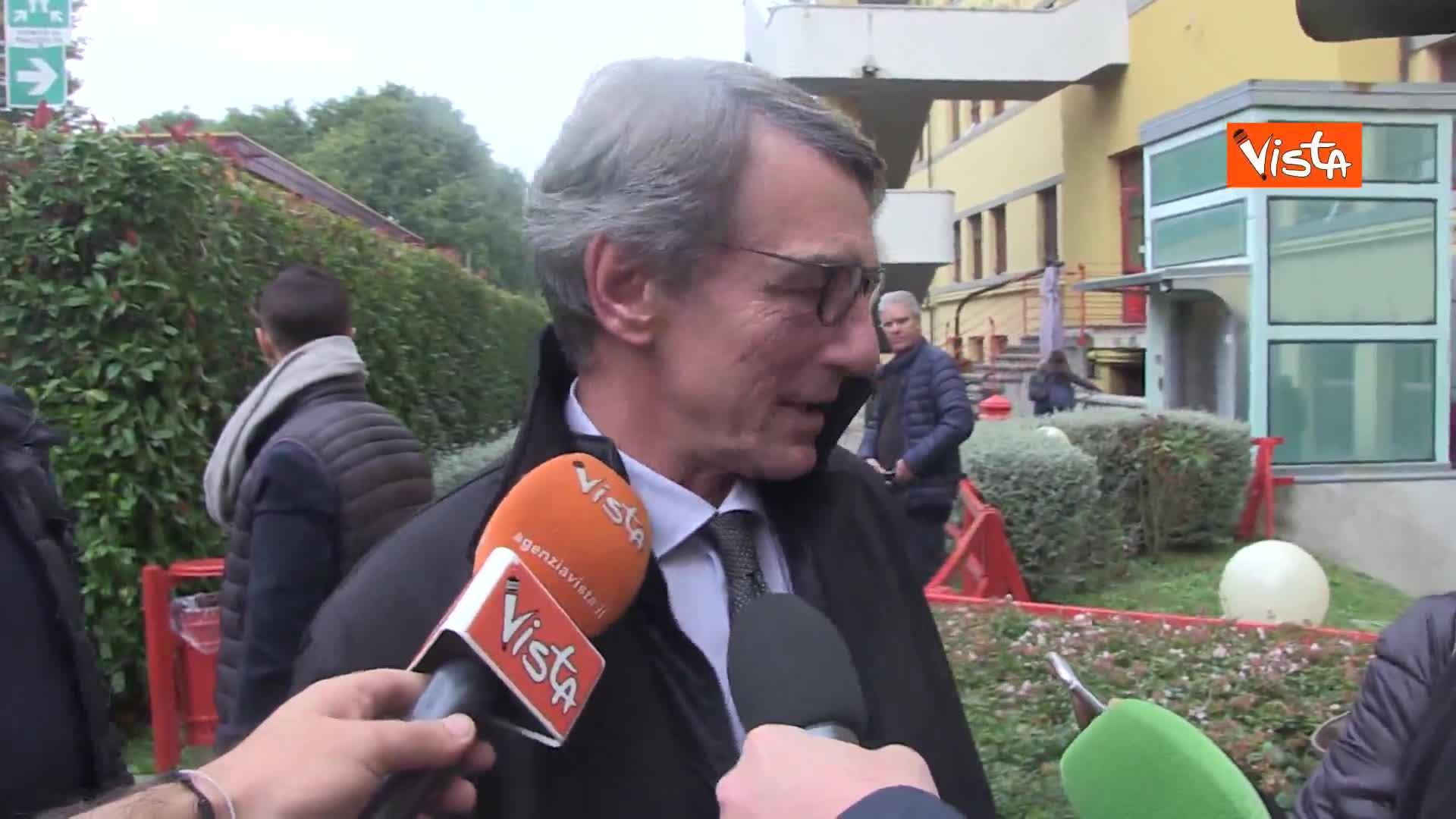 """Turchia, Sassoli: """"UE blocchi subito rifornimento armi"""""""