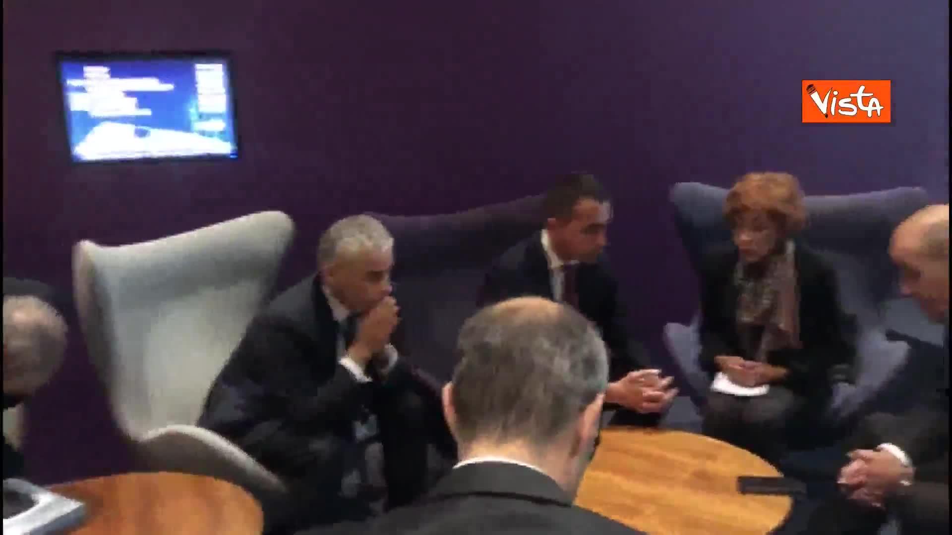 Siria, Di Maio incontra il Ministro degli esteri francese