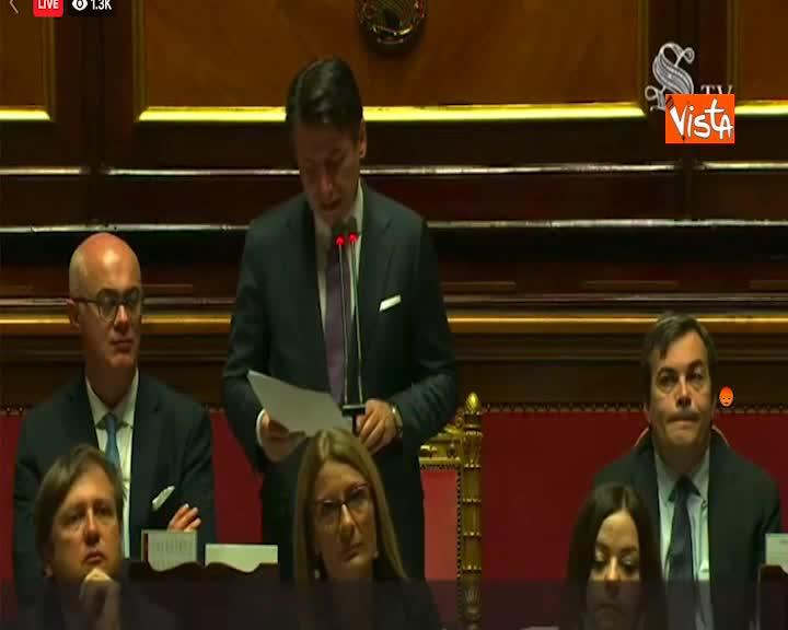"""Turchia, Conte: """"Italia ferma su moratoria armi"""""""