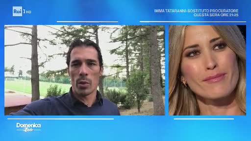 Videomessaggio di Bernardo Corradi per Elena Santarelli