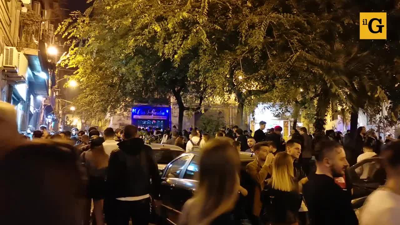 Le notti brave nelle discoteche del centro di Napoli